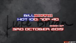 Billboard Hot 100: Top 40 (Week of 3rd October 2015)
