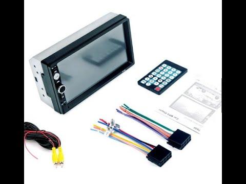 7010B Bluetooth Car Audio MP5 Player