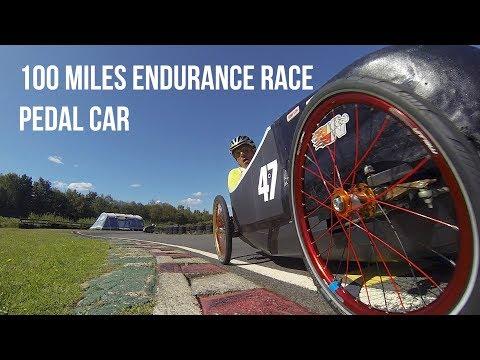 Blackbushe 100 miles endurance race - Pedal Car 2019