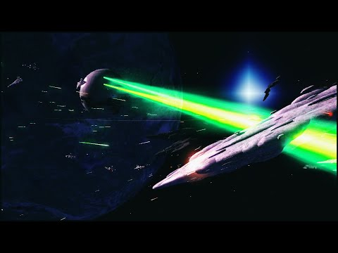 DEATH STAR SPACE BATTLE - Star Wars: Warlords Mod Gameplay