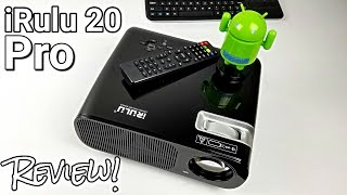 iRulu 20 Pro - Projector and Android TV Box - All In One - Review!