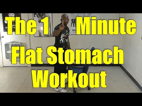 60 Second Flat Stomach Workout. Do 3x a Day for a Flatter Stomach from YouTube · Duration:  1 minutes 36 seconds