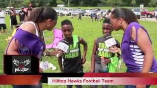twinsportstv interview with the twins from the 9u hilltop hawks football team