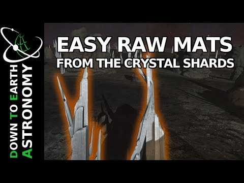 Fastest Raw Materials From The Crystal Shards | Elite Dangerous