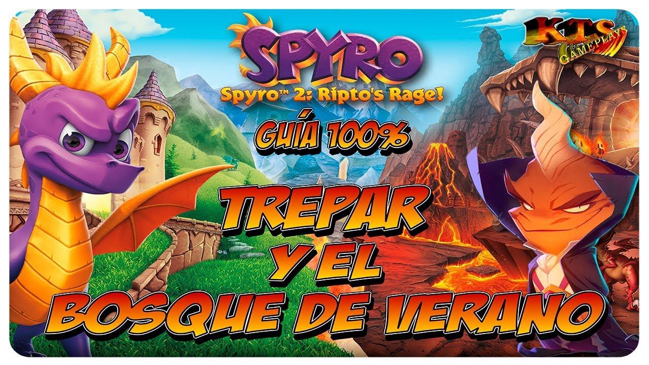 Spyro Reignited Trilogy 3 11 Cumbre Helada 117 Jardín