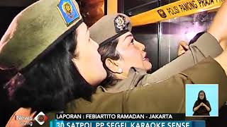 Tamat!! Diskotek Exotic Disegel Satpol PP - iNews Siang 19/04
