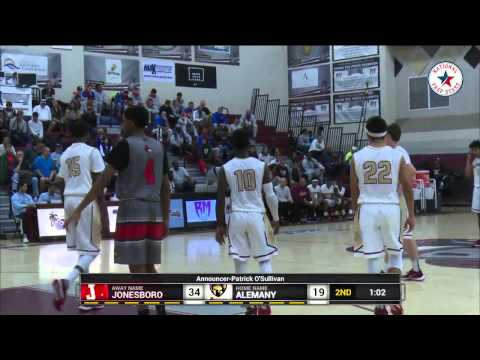 Jonesboro(GA) vs Alemany(CA) - MJ Walker vs Shacquille Dawkins