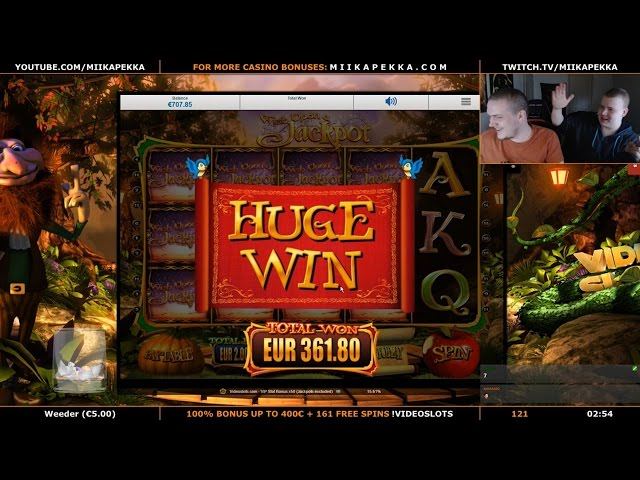 BIG WIN - Wish Upon A Jackpot - 2€ Bet !!