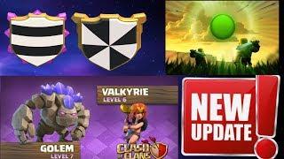 Clash of Clans NEW UPDATE! Sneak Peek 1 - NEW TROOP AND DEFENSE LEVELS - CoC October 2017 Update!