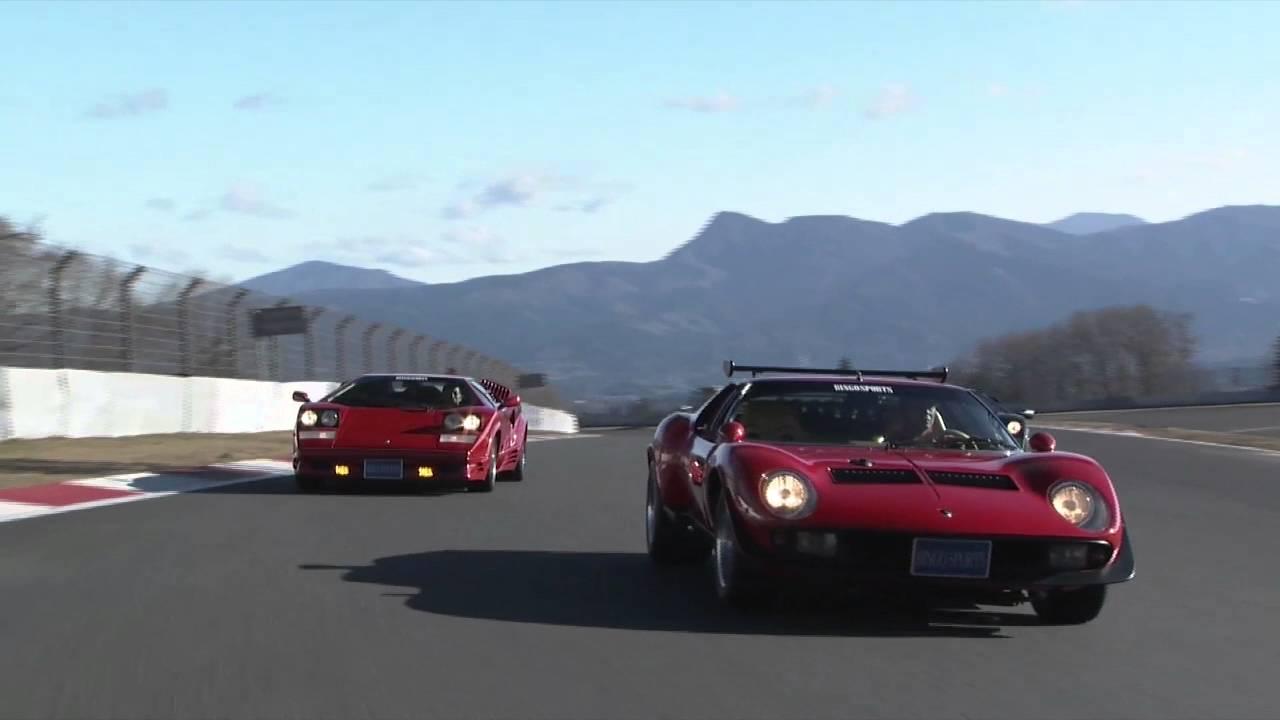 1968 Lamborghini Miura Jota Svr Promotion Shoot Hq Youtube
