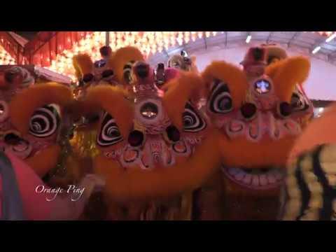 Mazu Dan. Dragon Dance & Lion Dance At Thian Hock Keng 天福宫