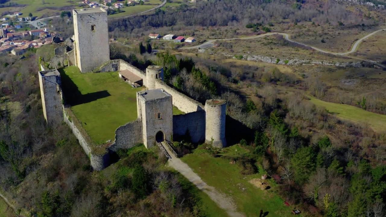 Le château Puivert, Aude. Vidéo en drone (épisode 2) de Kmmprod