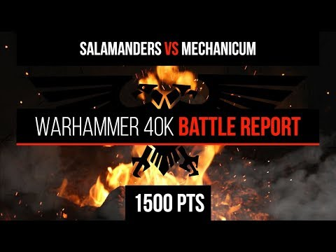 Salamanders vs Mechanicum Battle Report