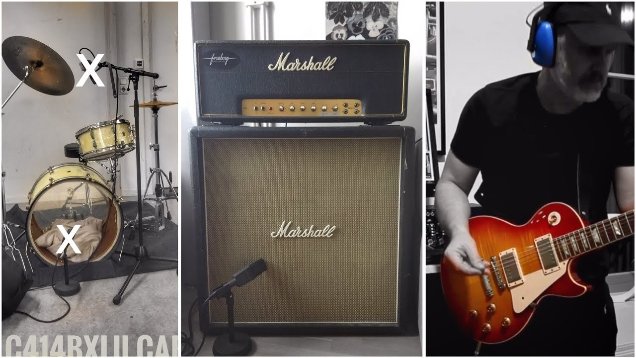 how to set up a marshall half stack