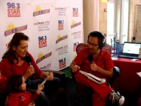 Riley Nelson and Family - Champions For Kids Radiothon