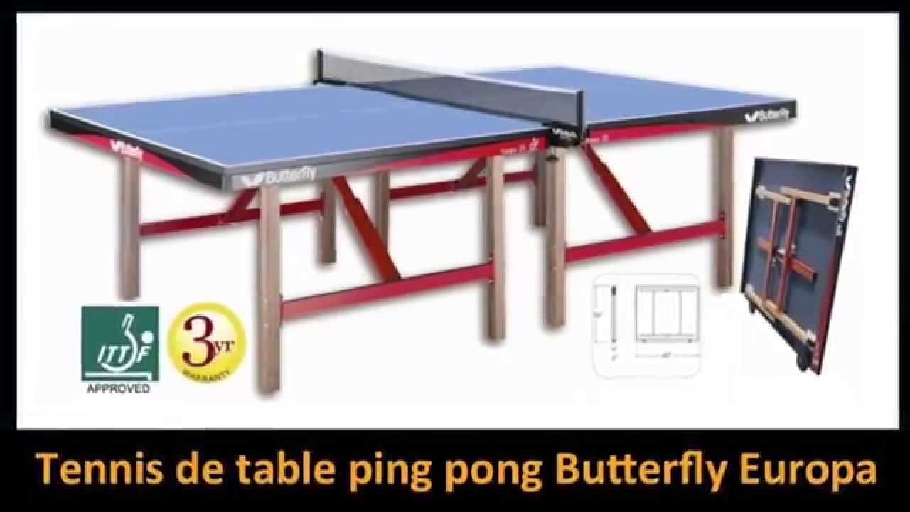 tables de ping pong choix de jeux de tennis sur table chez palason montreal et ottawa youtube. Black Bedroom Furniture Sets. Home Design Ideas