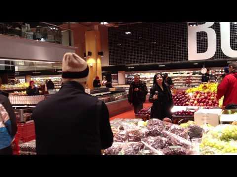Opera Singing in Supermarket Loblaws Carlton HD
