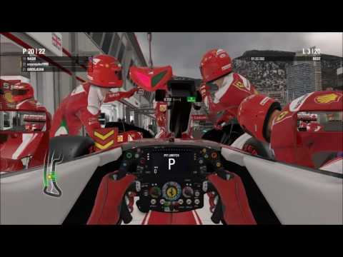 F1 2016 Co-op Career - Race 5 Monaco - Glitz and Rammer