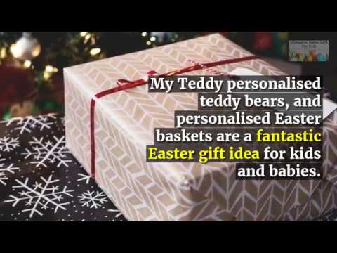 My teddy personalised teddy bears and personalised easter baskets my teddy personalised teddy bears and personalised easter baskets are a fantastic easter gift idea negle Gallery