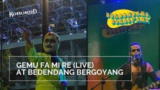KUBURAN - GEMU FA MI RE / MAUMERE (COVER)   Live at Berdendang Bergoyang