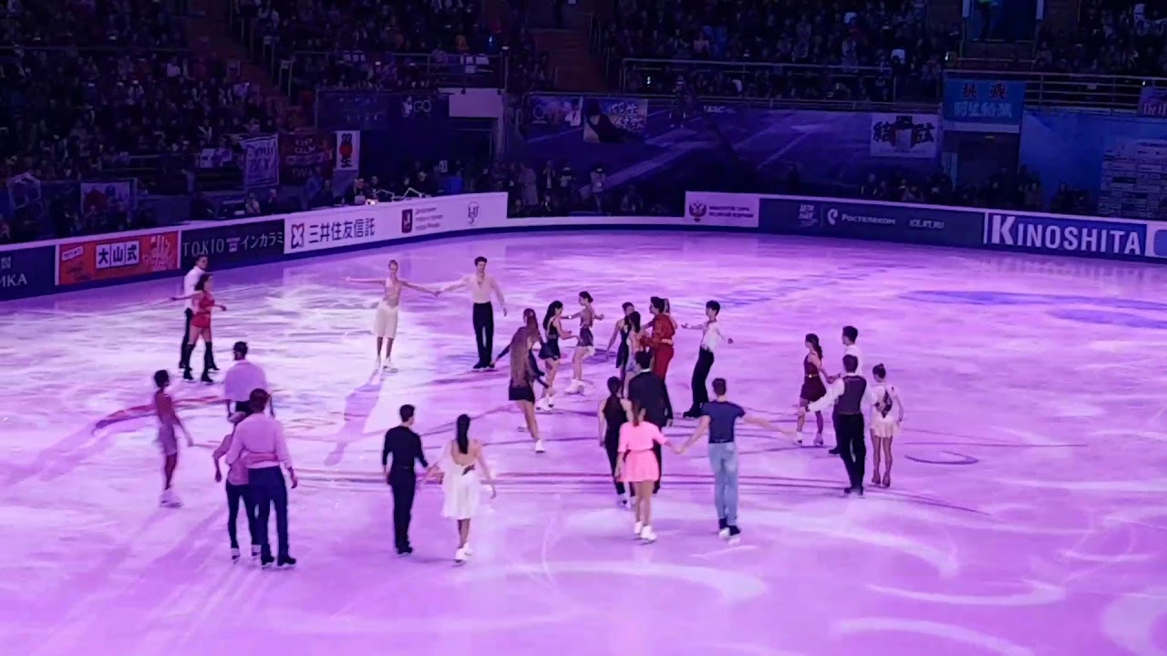 Rostelecom cup 2017 gala all on ice fancam