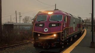 HD: MBTA CapeFLYER Extra in Buzzards Bay