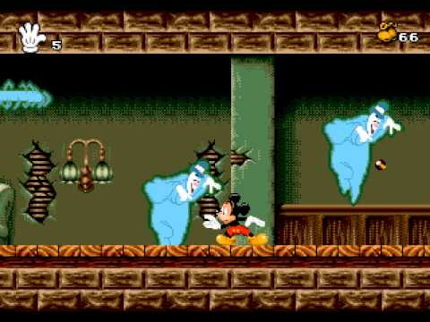 Mickey Mania: The Timeless Adventures of Mickey Mouse Walkthrough/Gameplay Sega Genesis