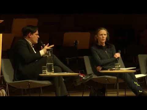 Rechtspopulistische Thesen von Uwe Tellkamp, sekundiert von Götz Kubitschek [Dresden 8.3.2018]