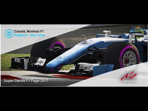 Volta Virtual Canadá, Circuito da Formula 1