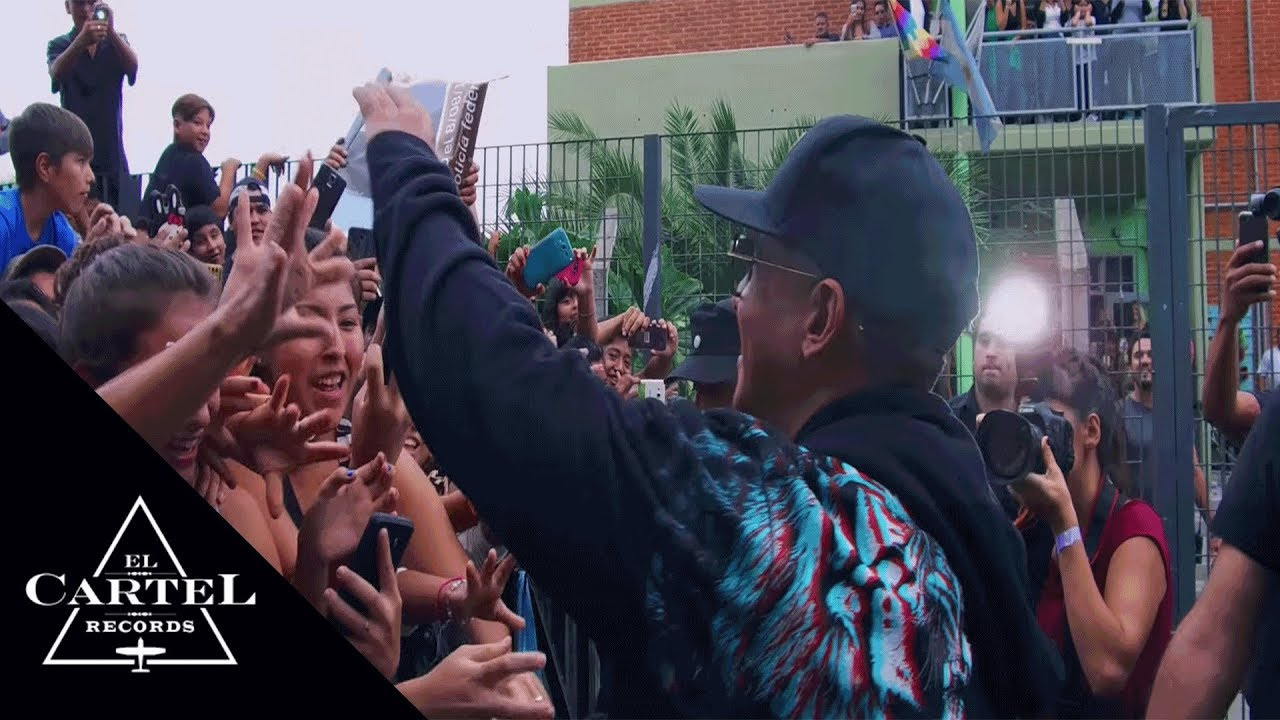 Daddy Yankee | #TamoEnvivoTour Buenos Aires, Argentina 2017 (Behind the Scenes)