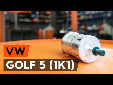 Как заменить топливный фильтр наVW GOLF 5 (1K1) [ВИДЕОУРОК AUTODOC]