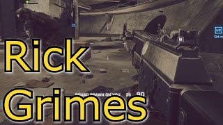BATTLEFIELD 4 - YBAGPTLO E13 Rick Grimes AK 12 .357