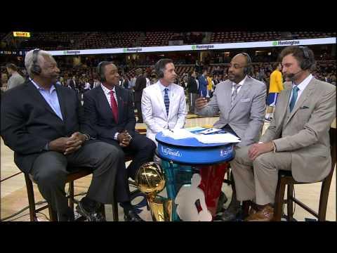 Oscar Robertson Interview - NBA Legend | GameTime | 2015 NBA Finals