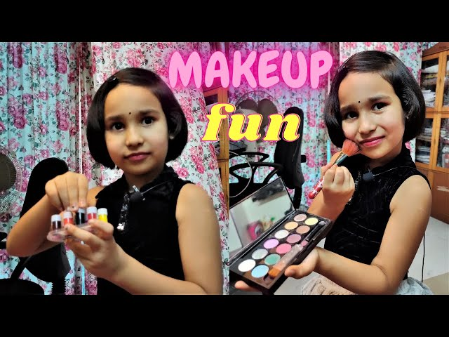 Makeup First Time By Pari | makeup tutorial for beginners | makeup kaise karte hain | #LearnWithPari