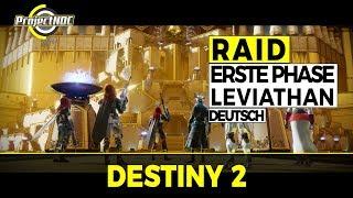 Destiny 2 - Leviathan Raid: Phase 1 Guide - Standard Phase (Deutsch/German)