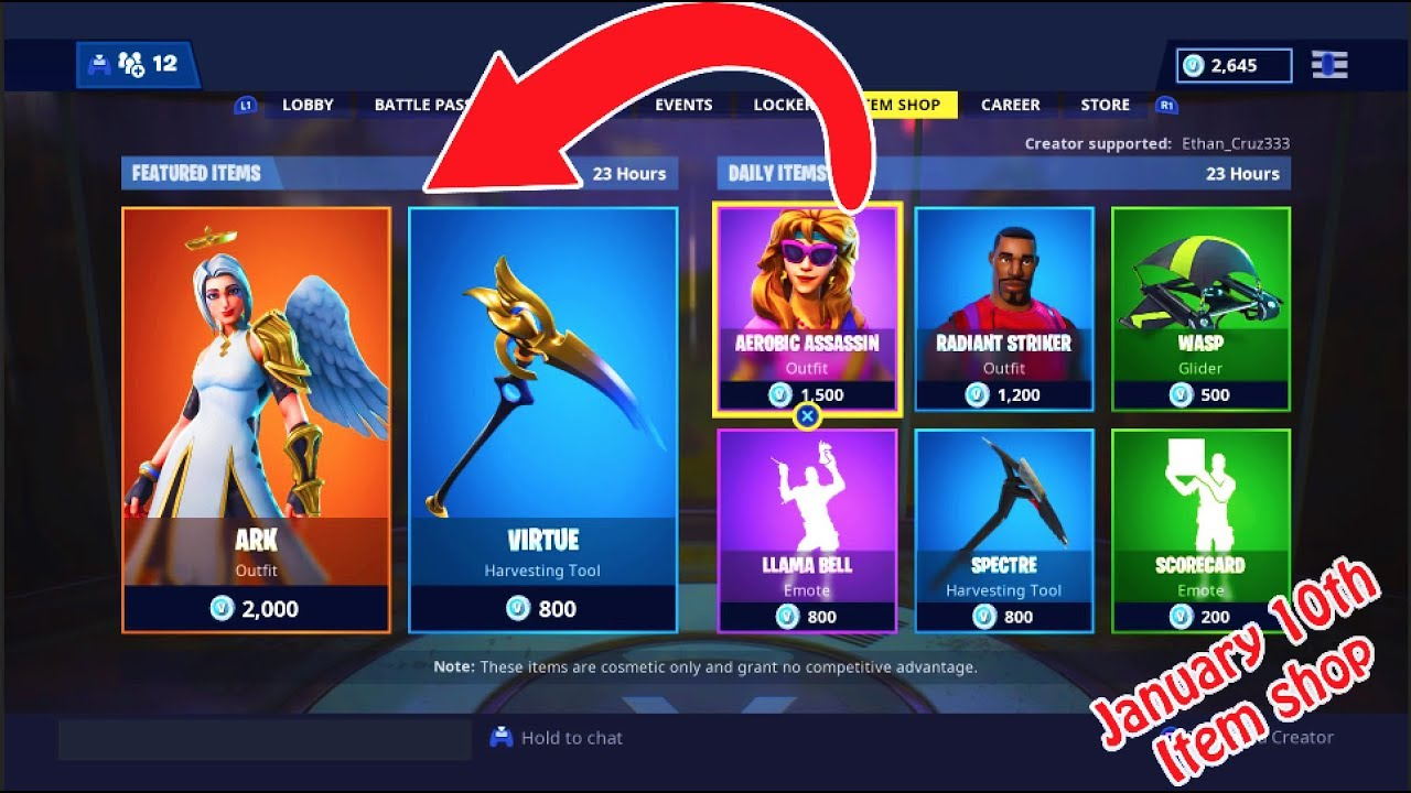 new ark skin with virtue pickaxe fortnite item shop - fortnite ark skin pickaxe