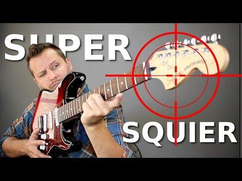 Building a SUPER SQUIER! - Taking On Fender's Best!
