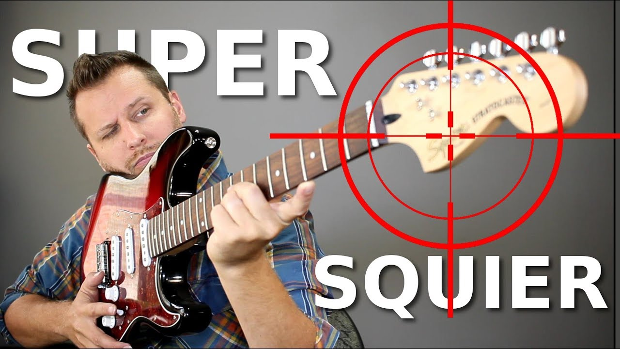 Building a SUPER SQUIER! - Taking Aim At Fender's Best!