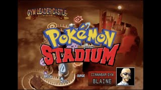 Pokémon Stadium - Gym Leader Castle - Cinnabar Gym