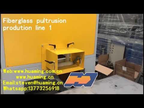 Caterpillar Type FRP Fiberglass Pultrusion Profile Machine
