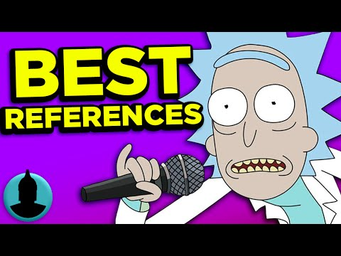 10 Best Rick & Morty Pop Culture References - (ToonedUp #128) | ChannelFrederator