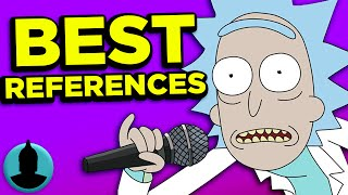 10 Best Rick & Morty Pop Culture References - (ToonedUp #128) | ChannelFrederator