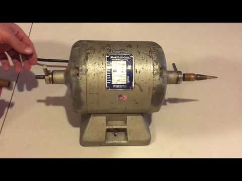 Baldor 353T Dental Polishing Lathe Basic Review Tutorial