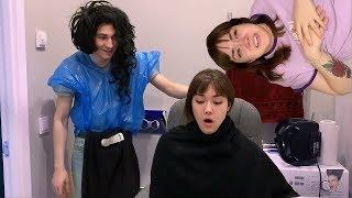 Смешные Моменты из видео Брайна и Насти/Анастасиз смеется на протяжении минуты