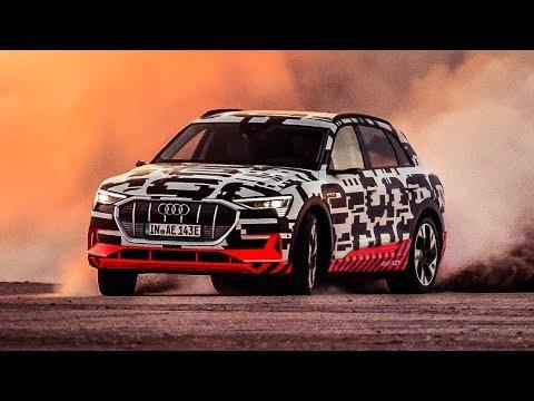 Audi e-tron | Driften in der Wüste! | Daniel Abt