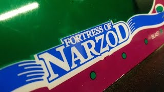 Classic Game Room - FORTRESS OF NARZOD review for Vectrex
