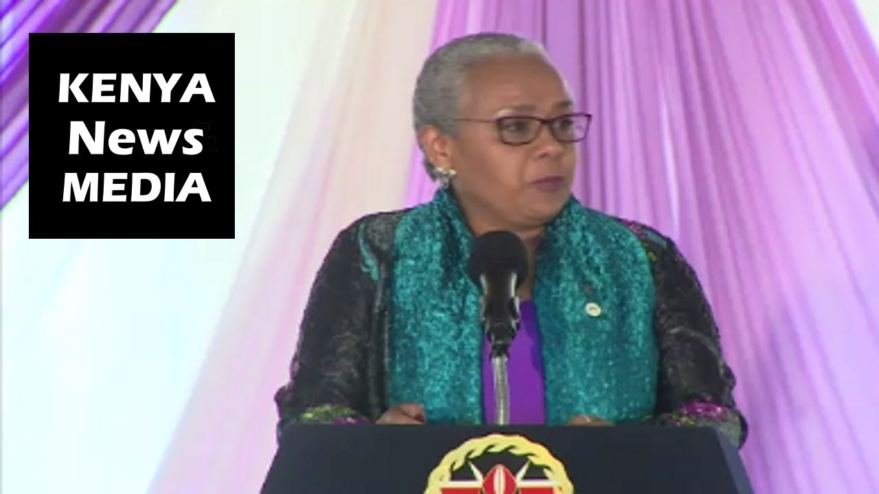 First Lady Margaret Kenyatta SPEECH at RELAUNCH of the Beyond Zero Marathon at State House!!!