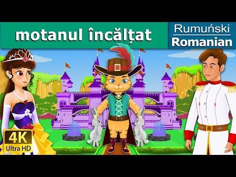 Motanul încălțat | Povesti pentru copii | Basme in limba romana | Romanian Fairy Tales
