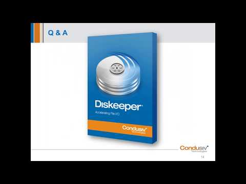 Diskeeper 18 - A New Lease Of Life For Physical Windows Servers.
