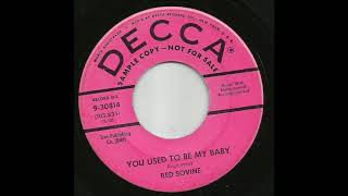 Red Sovine - You Used To Be My Baby YouTube Videos